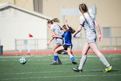 03/26/18 - San Juan Blue @ Earthquakes East Valley Blue (02 Girls U16)