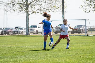 04/15/18 - San Juan ECNL @ Davis Legacy ECNL (03 Girls U15)