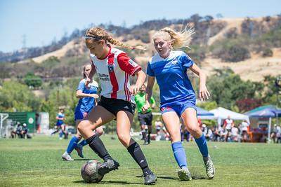 180610 - San Juan ECNL @ San Jose Earthquakes Academy (03 Girls U16)