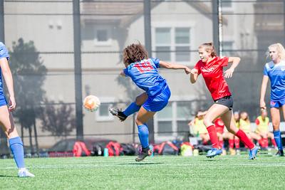 180826 - San Juan ECNL @ Mustang SC ECNL (03 Girls U16)