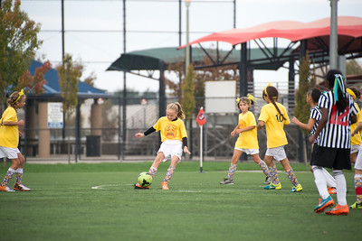 10/29/16 - Union Sacramento FC 2016 06 Girls U11 Grey