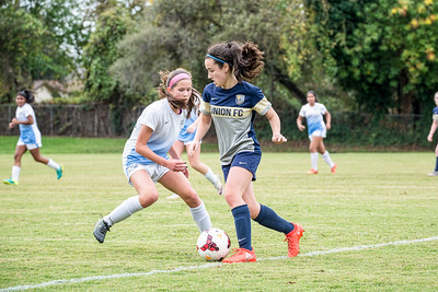 11/20/16 - Union Sacramento FC 02 Girls U15