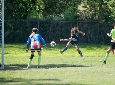 04/02/17 - Clovis Crossfire Blue @ Union FC (03 Girls U14)