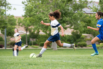 04/22/17 - Manteca FC Spring Invitational - Union FC @ Clovis Crossfire Blue (03 Girls U14)