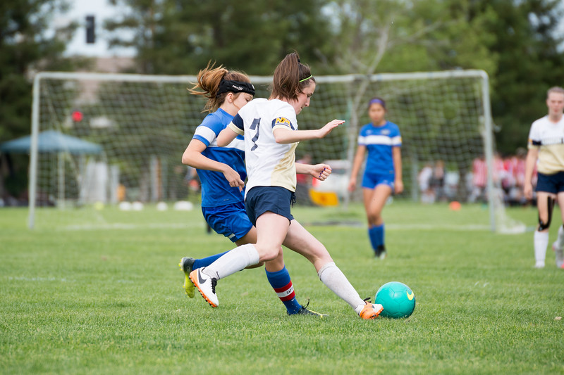 170422 - Union FC @ Clovis Crossfire Blue (03 Girls U14) - Jerrad Scoggins Photography