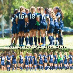 08/27/16 - Sacramento Union FC 03 Girls U14