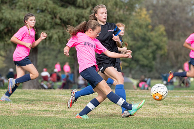 10/22/16 - Sacramento Union FC 03 Girls U14