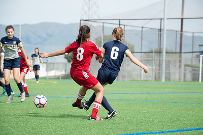 03/11/17 - San Jose Invitational Girls Showcase - Earthquakes East Valley @ Union Sacramento FC