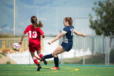 03/11/17 - San Jose Invitational Girls Showcase - Earthquakes East Valley @ Union Sacramento FC