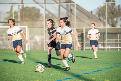 03/11/17 - San Jose Invitational Girls Showcase - Union Sacramento FC @ Los Gatos United Yellow