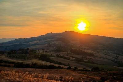 Sunstorm | Tuscany. Italy