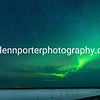 Northern Lights, Aurora at Saariselka, Finland.