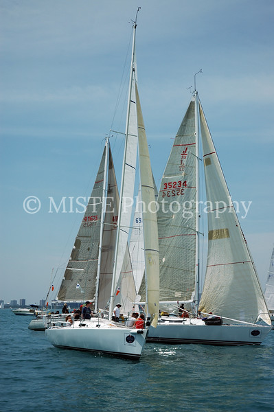 Chicago-Mackinac Trophy Division - J105 Section