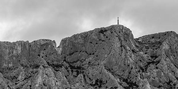 Brèche des Moines et Croix de Provence, Montagne Sainte Victoire