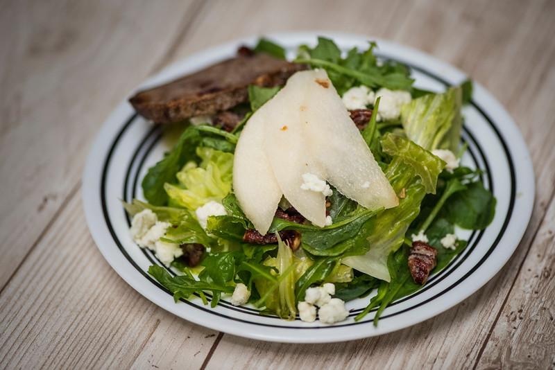 August 28 | Mache Salad