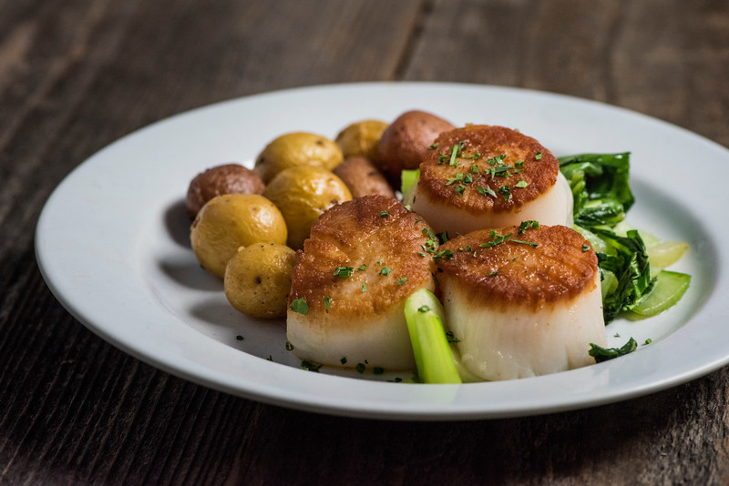 August 25 | Seared Scallops