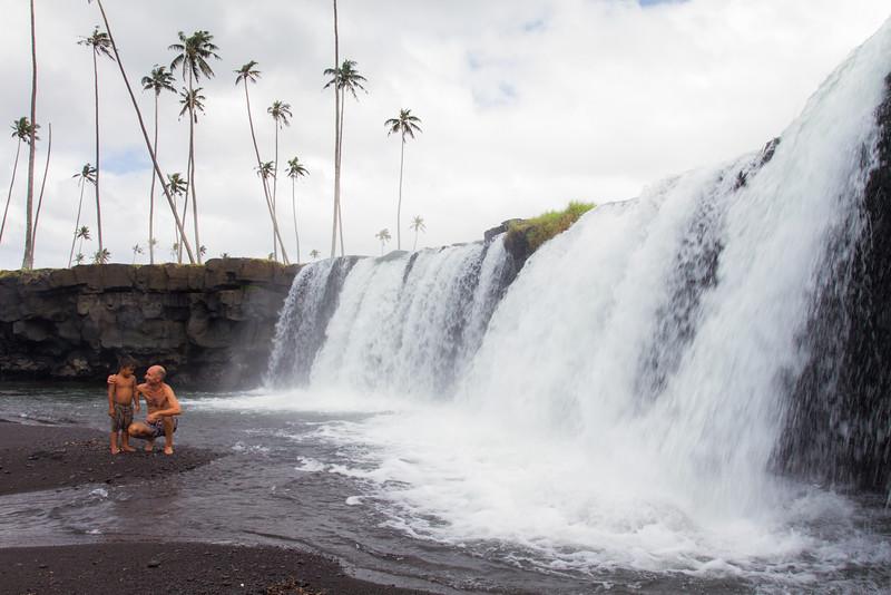 Mu Pagoa Waterfall