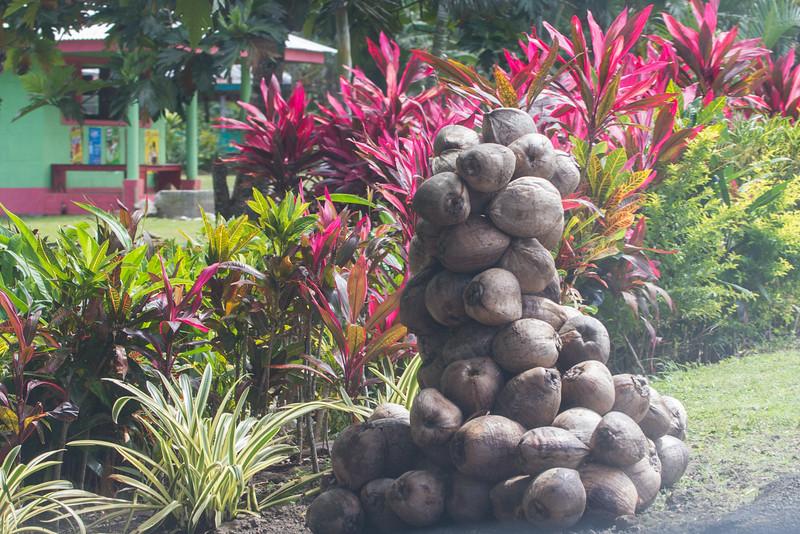 Coconut pyramid