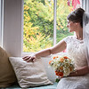 Looking out of the window, wedding photography at the Grange Hotel
