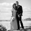Emma and Ben wedding photography at Ravensheugh Beach, Scotland