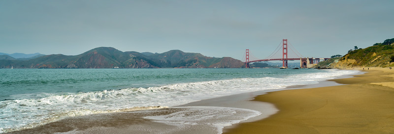 The Golden Gate from Baker Beach