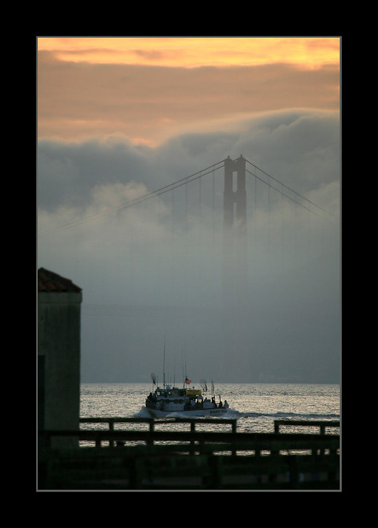 Golden Gate Bridge at Sunset, San Francisco, CA