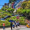 Winding Lombard Street