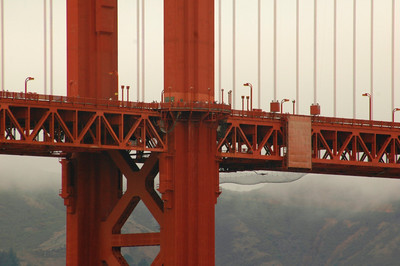 Golden Gate Bridge detail - an amazing structure!