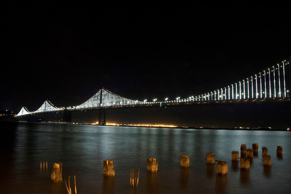 Night Beauty of the Bay Bridge