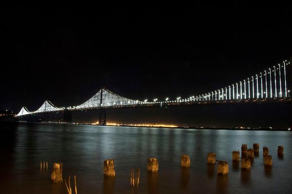 Night Beauty of the Bay Bridge