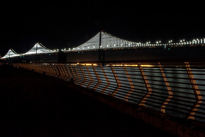 Bay Bridge From Pier 14
