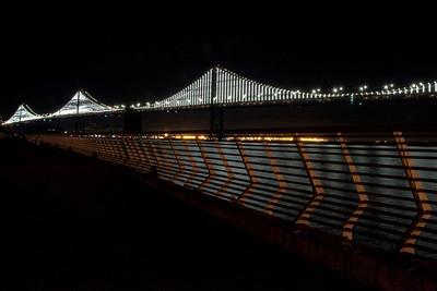 Bay Bridge From Pier 14