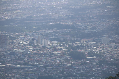Aerial View of San Jose, Costa Rica
