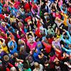 Honneur aux dames,  course de l'escalade, Genève