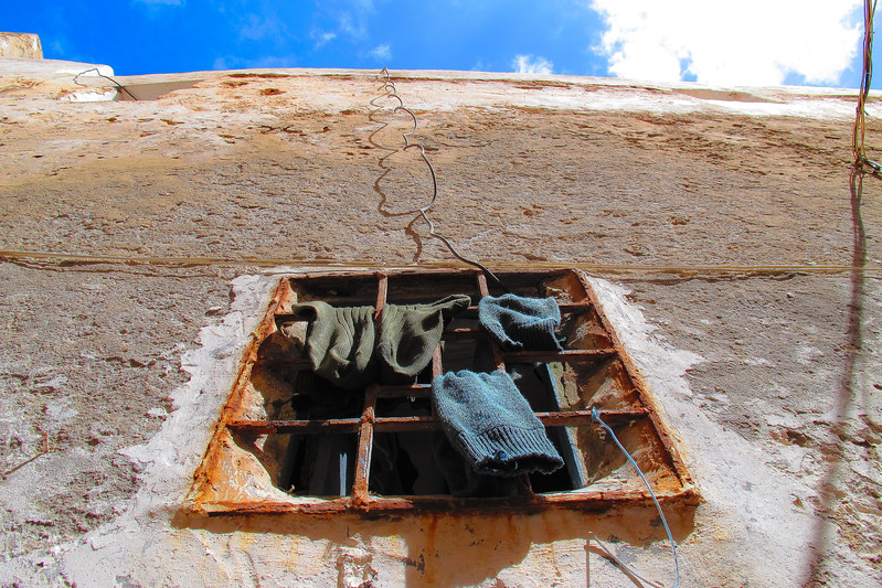 Les  chaussettes connectées, Essaouira, Maroc