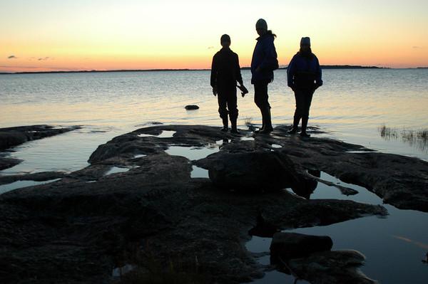Lökholm sunset