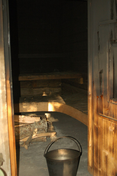 Finish smoke sauna