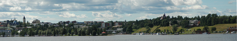 Lappeenranta from the sea side