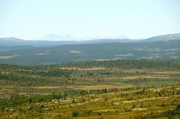 Tuva looking north to Rondane