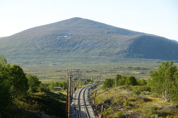 Dovrefjell railway track