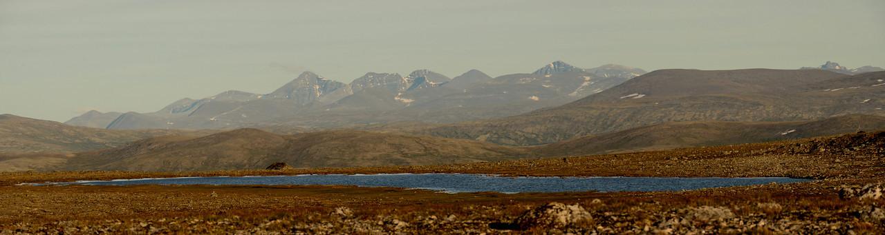 Rondane from Dovrefjell