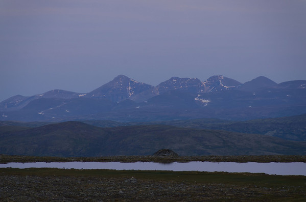 Rondane from Dovrefjell