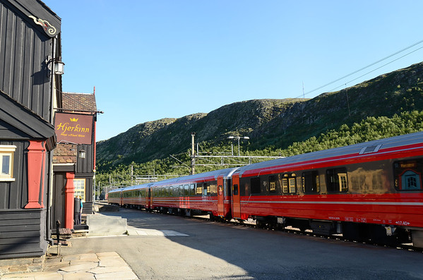 Hjerkinn fjell railway station, 1016m
