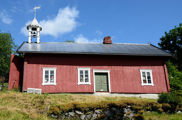 Stabbur with bell tower