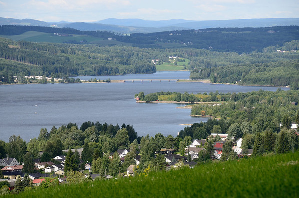 Lake Mjösa at Brumunddal