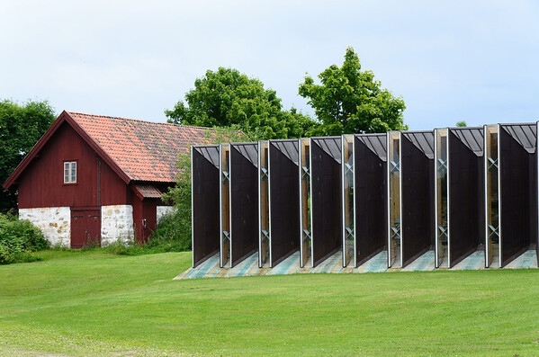Old farmhouses, Domkirkeodden museum