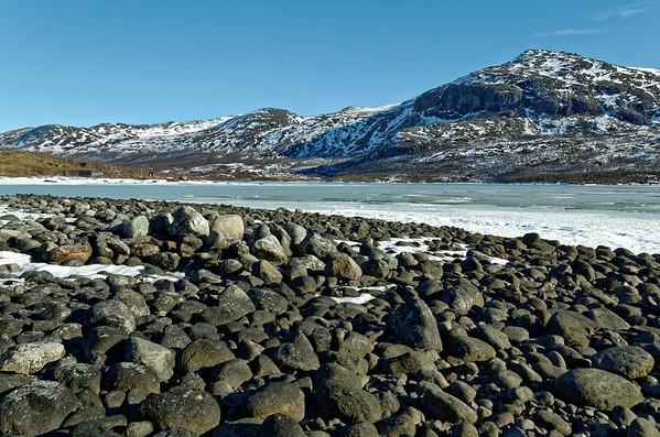 Sjodal in Jotunheimen on a warm Spring day
