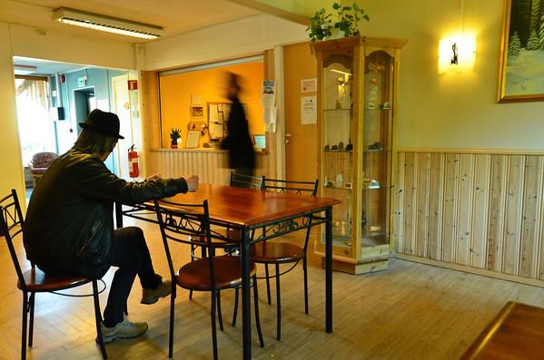 Scandinavian hotel atmosphere