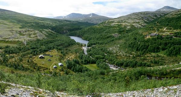 Overlooking Björnhollia