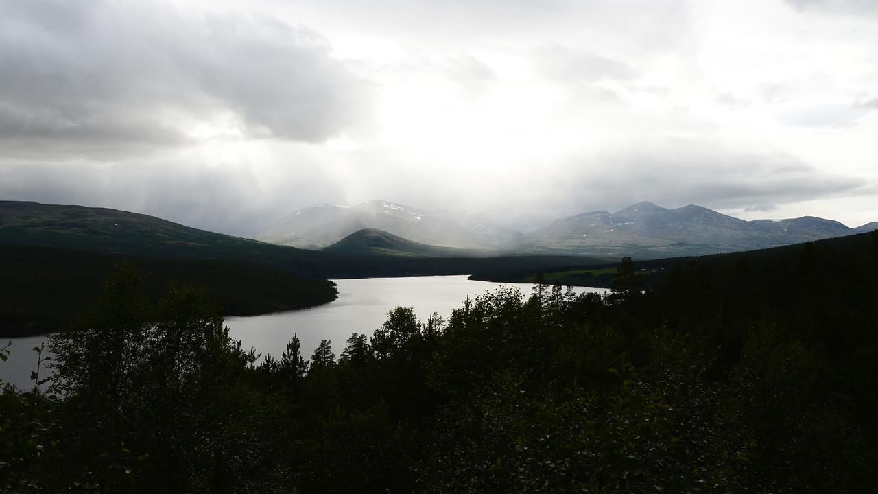 Rain Showers over Rondane